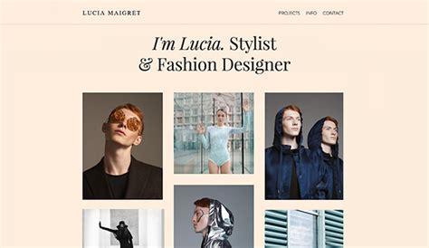 포트폴리오 에 맞는 Html 홈페이지 템플릿 Wix Fashion Stylist Portfolio Template