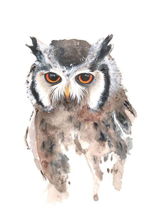 watercolor owl tutorial 1607 best i art images on pinterest paintings