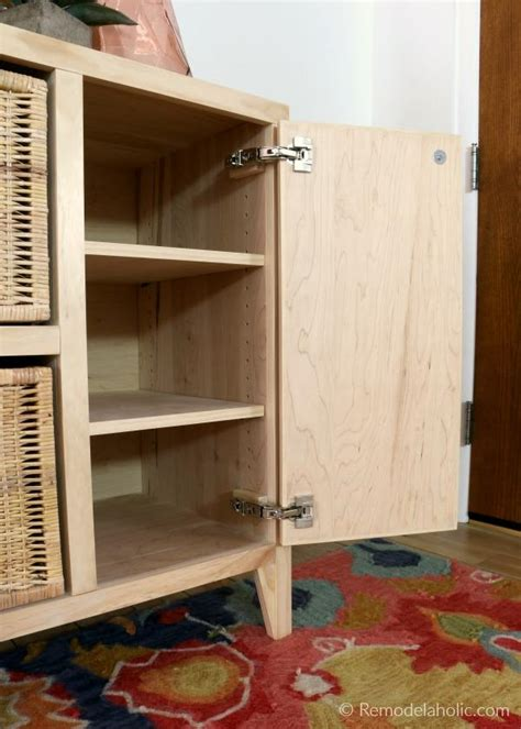 diy entry table  cubby storage woodworking plan