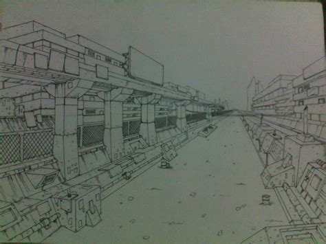 V Drawing Wallpaper by One Point Perspective Background Drawing By Beryl21 On