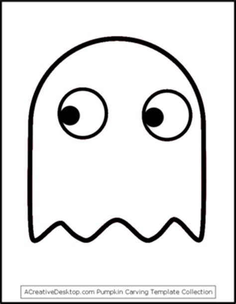 pacman ghost coloring page pac man ghost stencil more party ideas pinterest pac