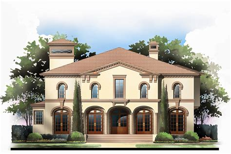 Homes With Two Master Suites by Tuscan Villa With 2 Master Suites 12282jl 1st Floor