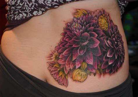 dahlia tattoo dahlia tattoos askideas