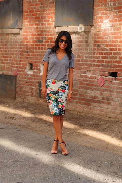 what to wear with a pencil skirt glam radar