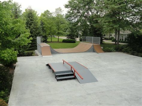 backyard skatepark rage skatepark equipment skatepark gallery