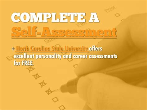 Mba 590 Ncsu by Complete A Self Assessment