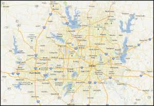 map of dallas fort worth area pictures to pin on