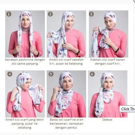 tutorial hijab juni 2015 foto tutorial hijab modern sederhana terbaru 2015 new