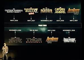 Marvel Release Dates Lucasfilm S Wars Schedule Leaked Before Sdcc