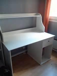 Achetez Bureau Blanc Ikea Occasion Annonce Vente 224 Tassin Bureau Blanc Ikea
