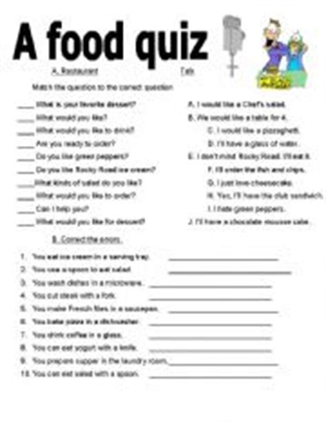 printable health quiz eating healthy healthy eating quiz printable