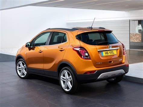 vauxhall orange vauxhall mokka x 1 4t elite nav car leasing nationwide