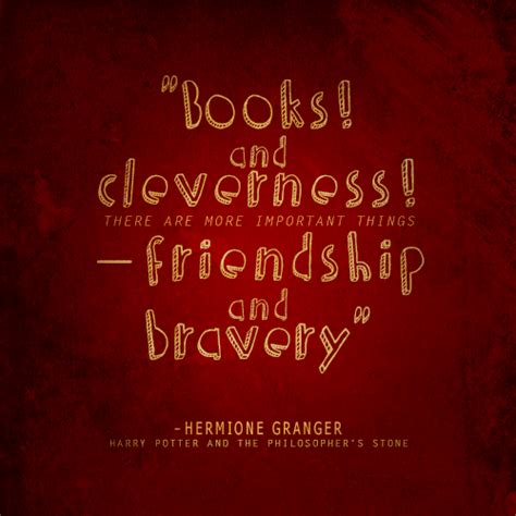 Hermoine Granger Quotes by Friendship Quotes Harry Potter Books Quotesgram
