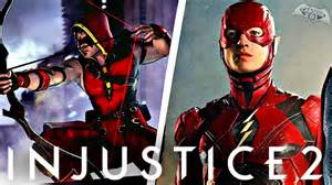 Injustice 2 justice league movie skins arsenal playable