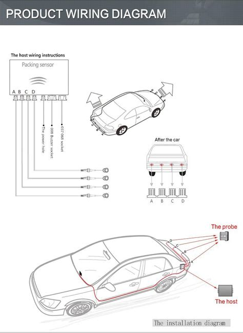 saab parking sensor wiring diagram wiring diagram with