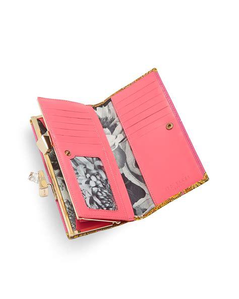 H Mes Wallet ted baker wallet paisley digital matinee