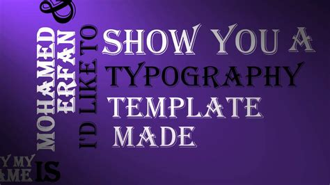 sony vegas pro 12 typography template download youtube