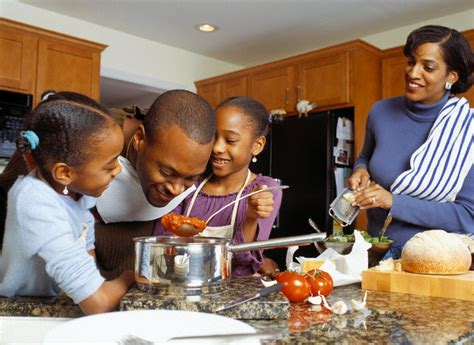 family kitchens kitchens that are friends for kids kids in the kitchen a family affair thyblackman