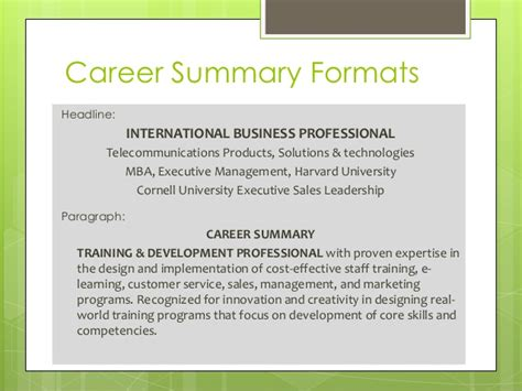 Cornell Executive Mba Program Cost by Resume Workshop
