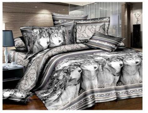 wolf comforter set gray wolf bedding set bedrooms pinterest gray wolf
