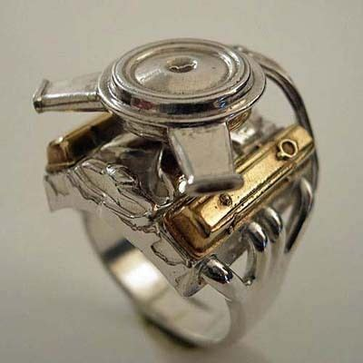 Replica Hnm Ring Mini 17 best images about rings on industrial wedding ring and chevy