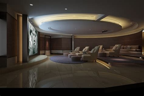theatre room lounges home theatre lounge space collection 3d model max cgtrader
