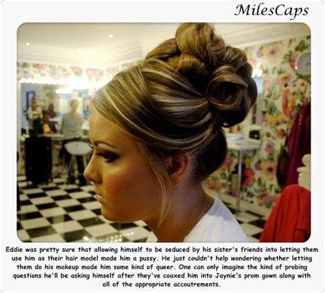 sissy with femme updo pics 147 best images about tg captions on pinterest sissy
