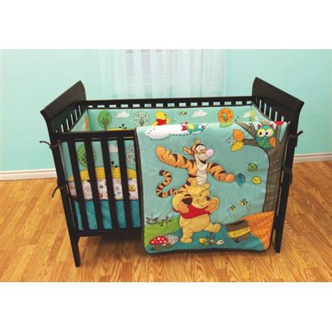 Disney Bedding Sets For Cribs Disney Winne The Pooh Crib Bedding Set 3 0 24 Months Assorted Disneypooh Nursery