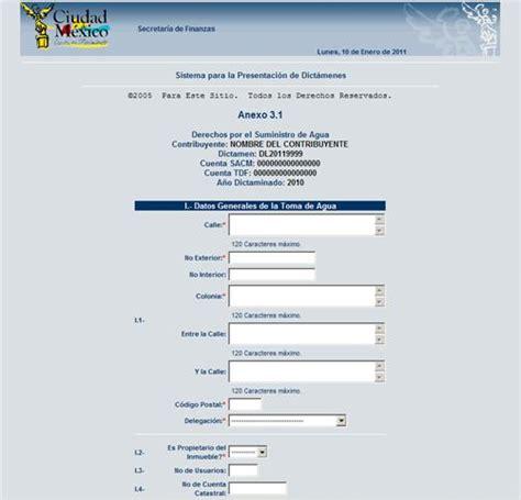 finanzas df gob mx formato lc tenencia formato universal pago de predial