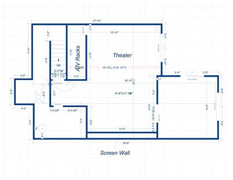 home theatre design layout the spring ridge cinema build thread avs forum home