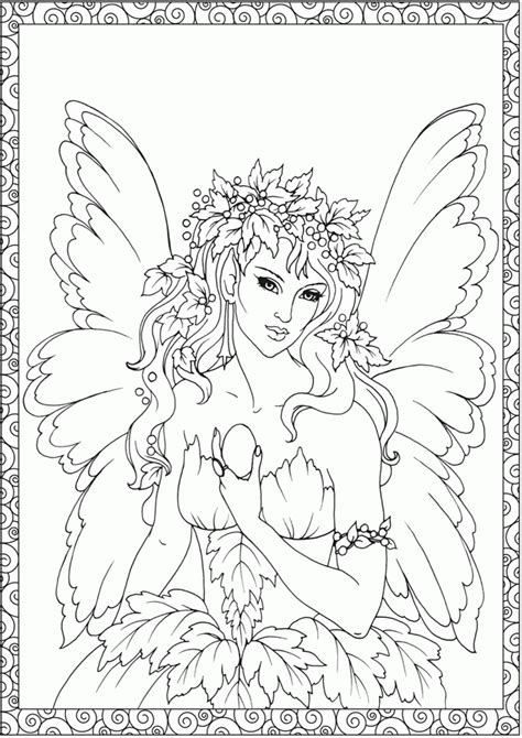 enchanted fairies coloring book books coloring page for adults az coloring pages