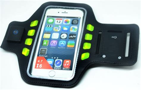 Mcn8 Iglove Touch Screen Smartphones Iphone Sarung Tangan Motor Hp An 1 sport running armband with led for smartphone 4 7 inch