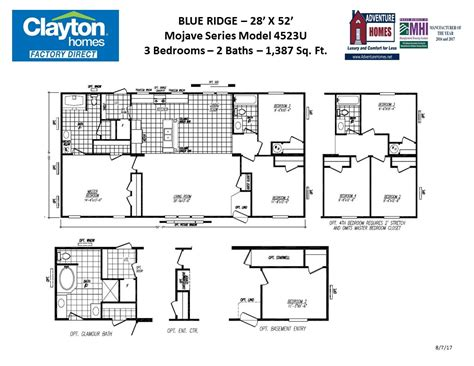 clayton homes floor plans 28 clayton homes of delmar de