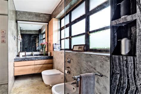 Awesome Mediterranean Mirrors For Bathrooms #7: Large-Industrial-Bathroom.jpg