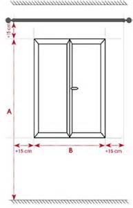 confection rideaux dimensions
