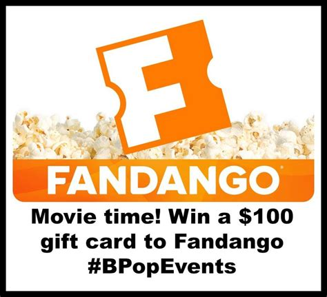 Can You Use A Fandango Gift Card At The Theater - where can i use a fandango gift card