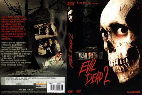 film evil dead 1 jaquette dvd evil dead 2 movies pinterest movie