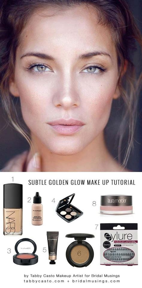 natural makeup tutorial for everyday best ideas for makeup tutorials natural golden glow