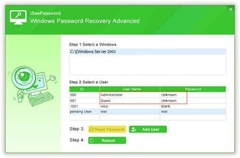 password reset tool in sap windows password recovery recover local password for