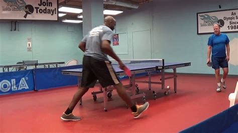 2017 pa state table tennis chionships over 40 youtube