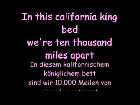 california king bed lyrics california king bed lyrics by rihana