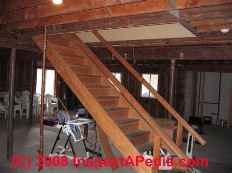 Basement Stairways Guide To Stair Railing Landing How To Make Basement Stairs