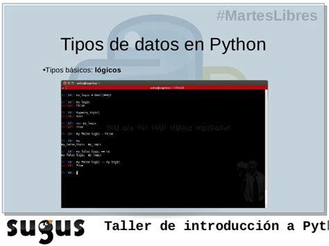 concatenar cadenas en python transparencias taller python