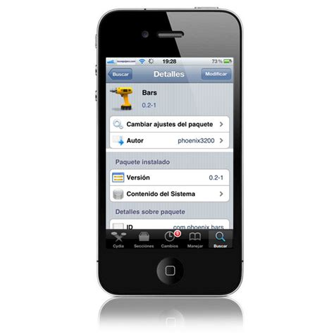 bars cydia tweak mejora la precisi 243 n de la cobertura en tu iphone con