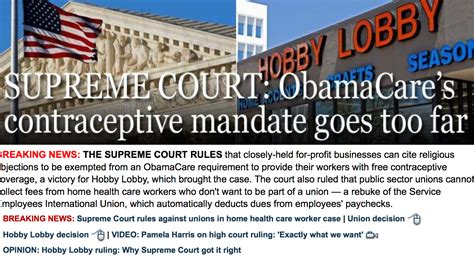 fox news comment section fox news celebrates hobby lobby scotus win as an obamacare