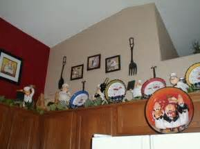 chef kitchen decor with kitchen wall border