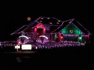 worlds best christmas light display to music youtube