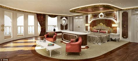 Eclipse Yacht Interior by The Streets Of Monaco Hyper Yacht So Extravagant It May