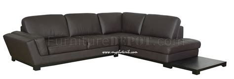 side sectional sofa modern leather sectional sofa with side table