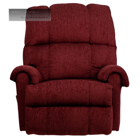 lazy boy fabric recliners red burgundy fabric rocker recliner lazy chair furniture